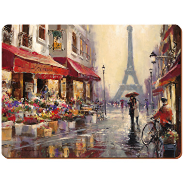 Creative Tops Paris Scene Pack Of 4 Large Premium Placemats