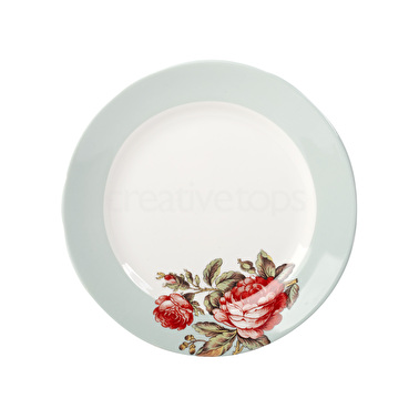 Victoria and Albert Rose Chintz Side Plate