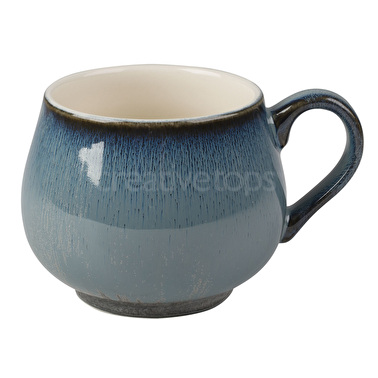 La Cafetiere Core Cosy Foot Reactive Mug Blue