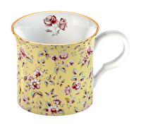 Katie Alice Ditsy Floral Palace Mug Yellow Floral