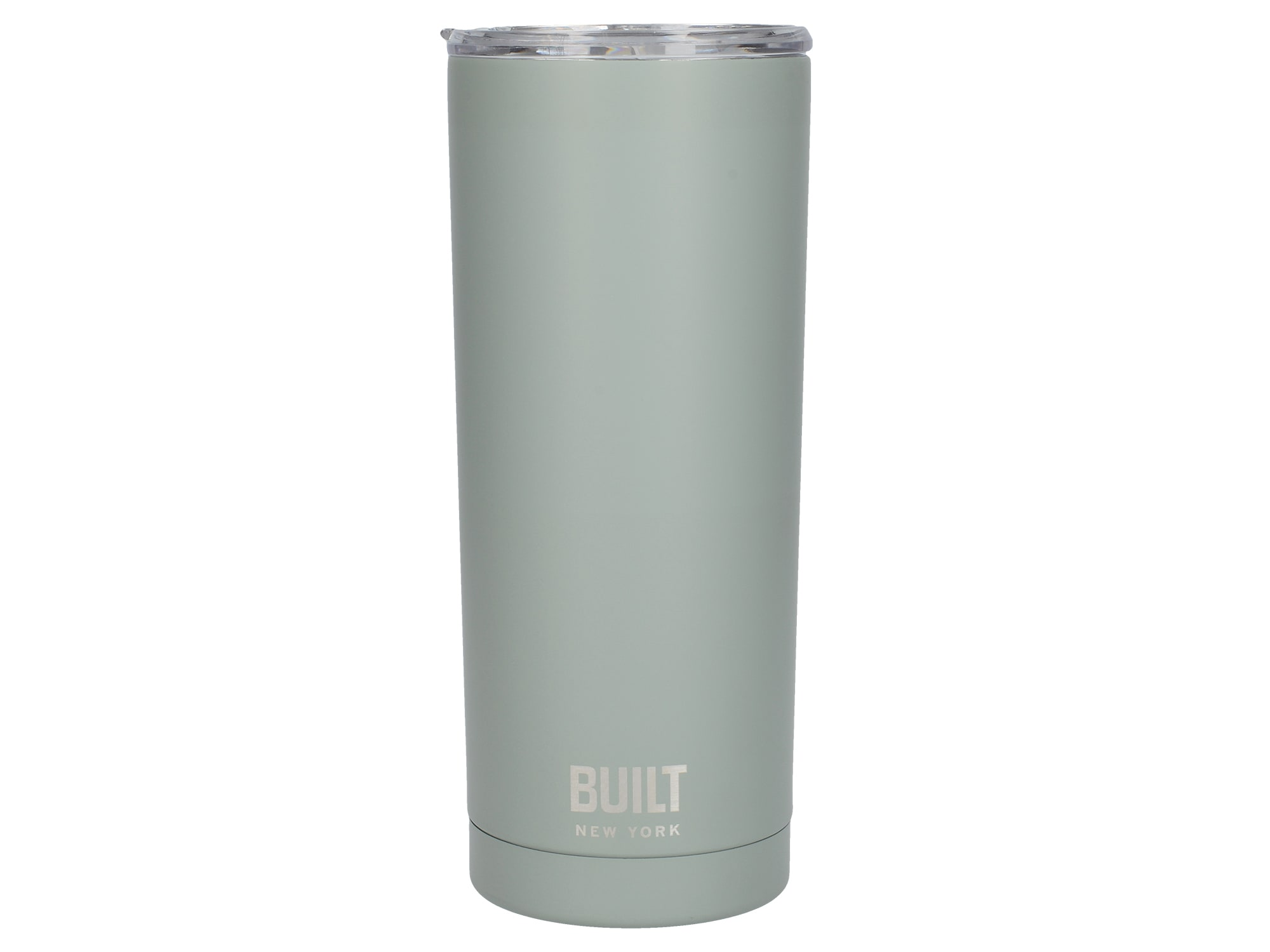 Built 20Oz Double Walled Stainless Steel Water Tumbler Storm Grey