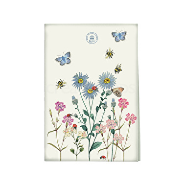 Kew Gardens Meadow Bugs Tea Towel