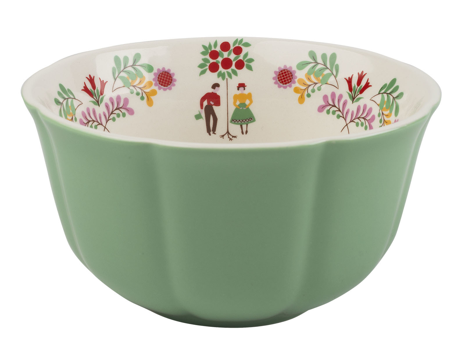 Katie Alice Festival Folk Cereal Bowl