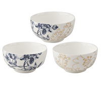 Victoria And Albert Palmers Silk Set Of 3 Dip Bowls