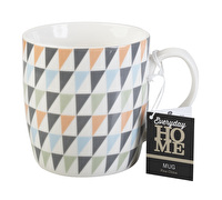 Everyday Home Geo Triangle Barrel Mug