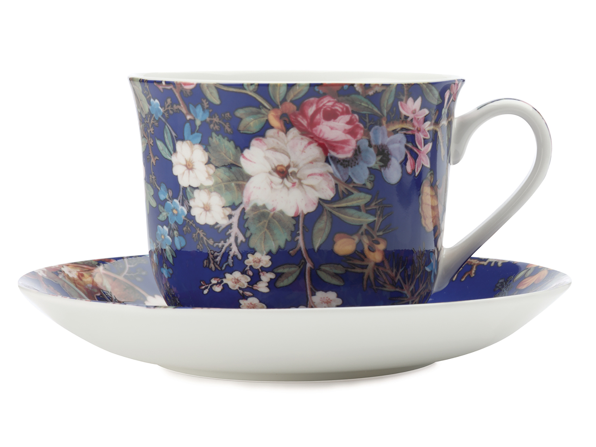 Maxwell & Williams William Kilburn Floral Muse 480Ml Cup And Saucer Gift Boxed