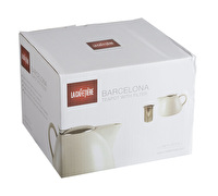 La Cafetiere Barcelona 1300ml Teapot White