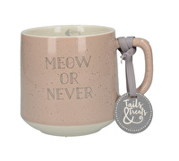 Creative Tops Tails & Treats Meow Or Never Cat Mug