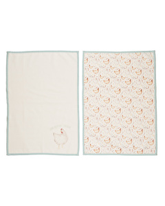 Photo of Creative Tops Feather Lane Set Of 2 Tea Towels