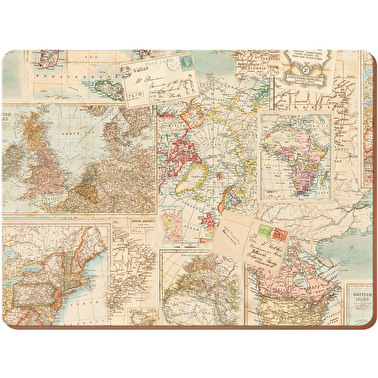 Everyday Home Atlas Pack Of 4 Placemats