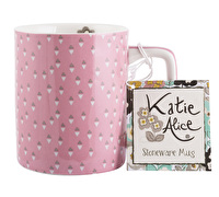 Katie Alice Pretty Retro Can Mug Pink