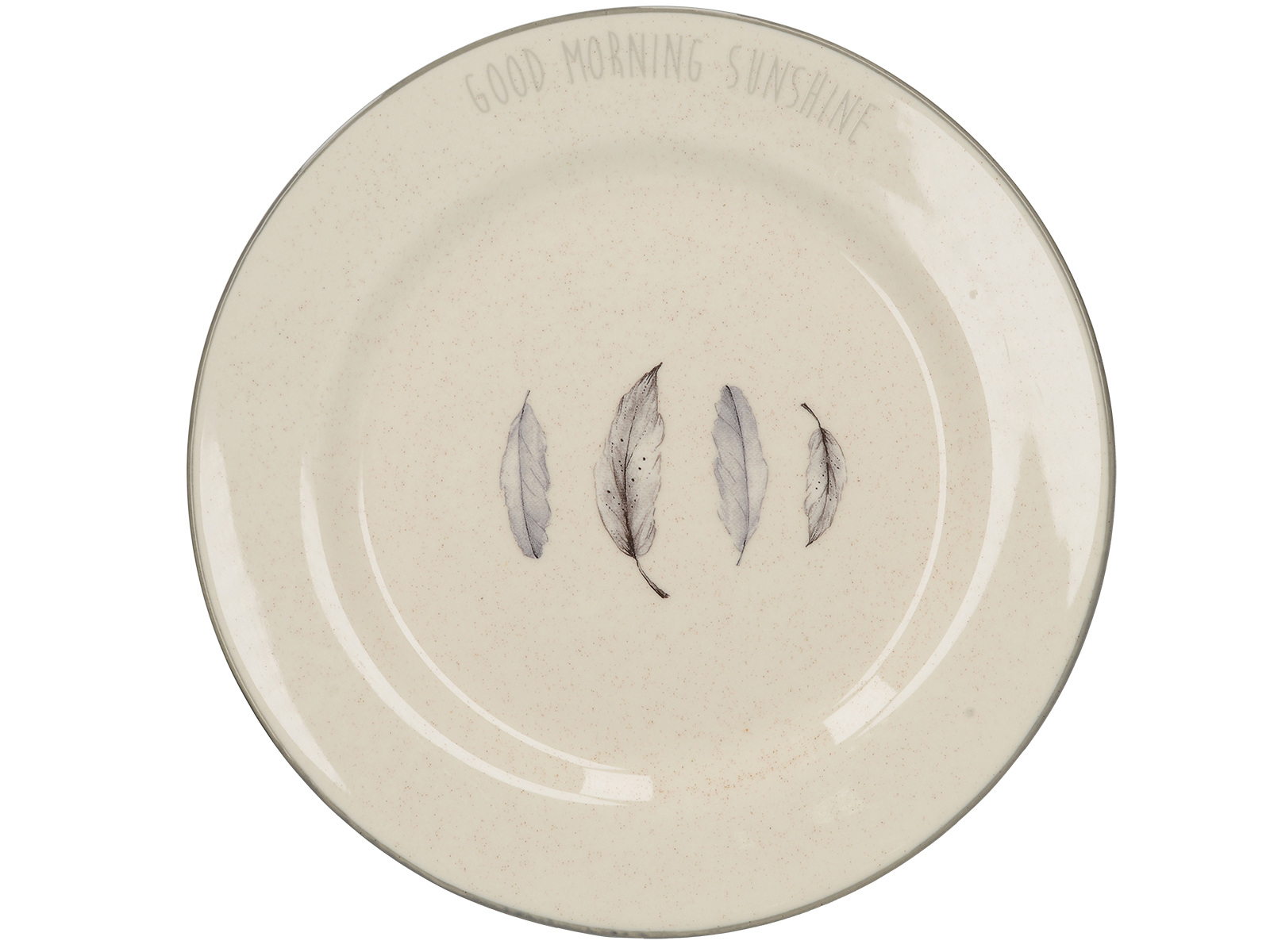 Creative Tops Feather Lane Feather Side Plate