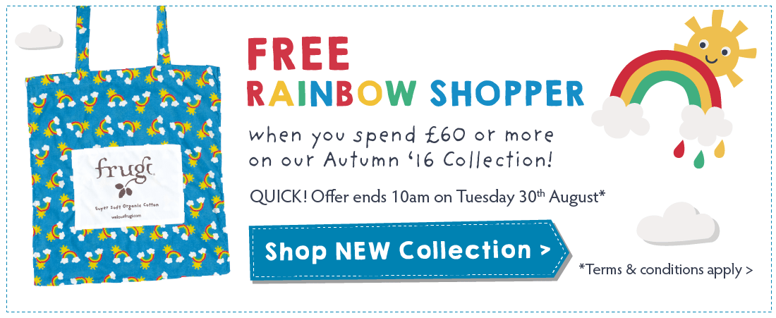 FREE Rainbow Shopper!