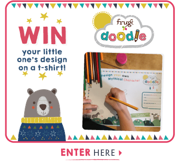 WIN your little one's desing on a t-shirt! Enter Here