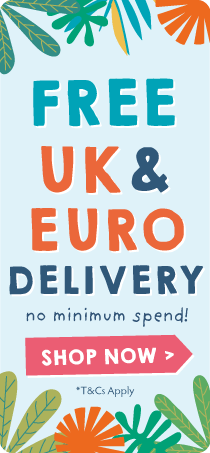 Free UK and Euro (€) Delivery