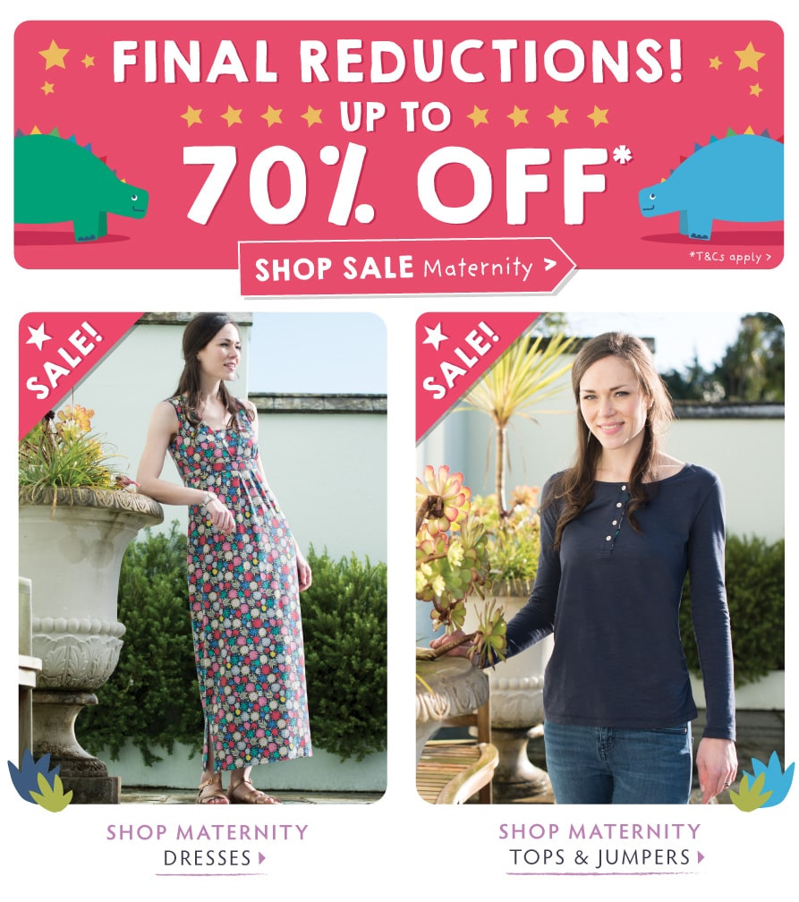 Final reductions! Up to 70% off