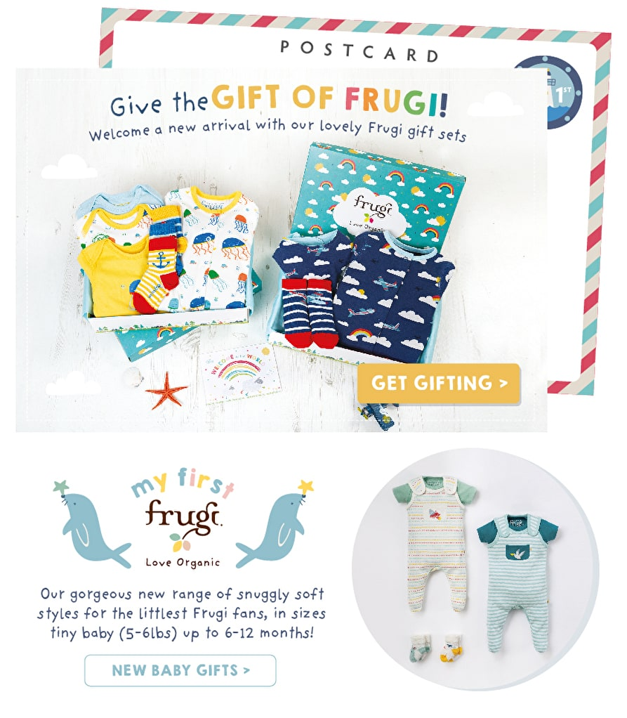 Give the GIFT OF FRUGI! Get gifting