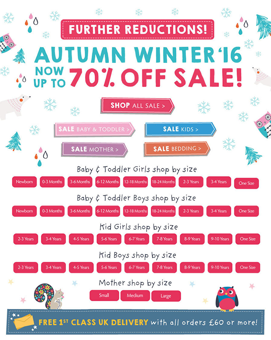 [B2C] AW16 Sale Further Reductions