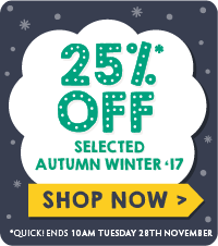 [B2C] up to 25% off aw17