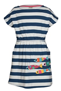 Bryher Boat Neck Dress