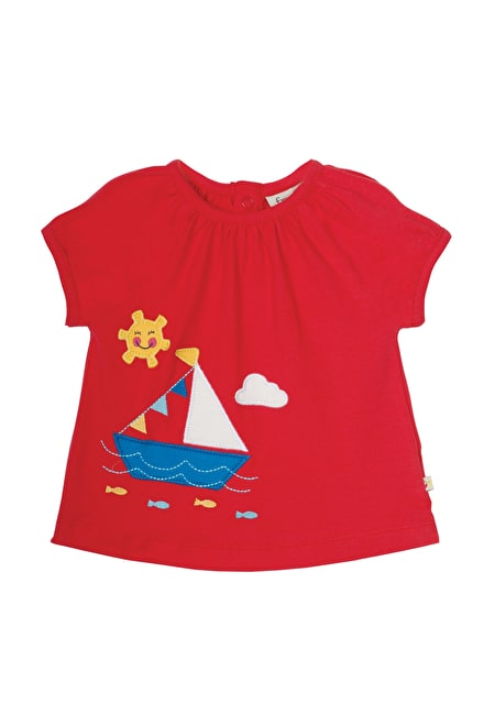 Amelia Applique Top