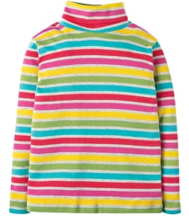 Eva Stripe Roll Neck