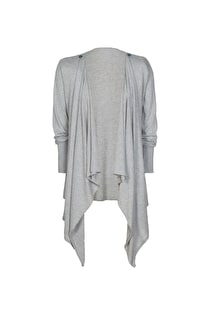 Fine Knit Waterfall Cardi