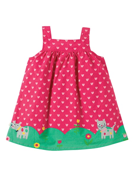 Carousel Pinafore Dress