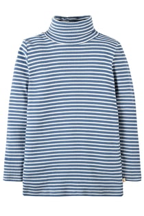 Ava Stripe Roll Neck