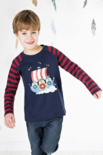 Alfie Applique Top