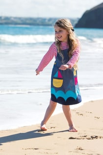 Perfect Pocket Pinafore Dress