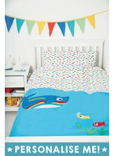 Cosy Cot Bed Applique Duvet Set