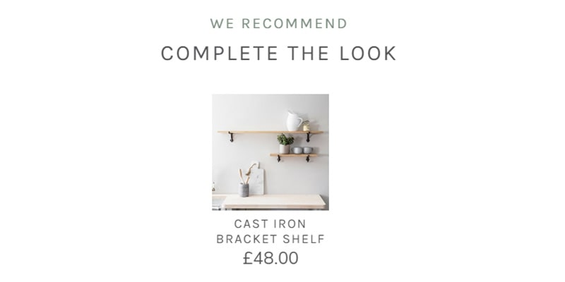 complete the look example showing how to use our products
