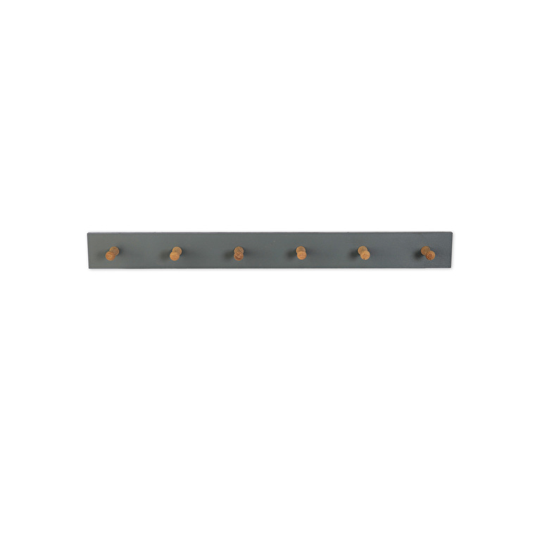 Wooden Clockhouse Peg Rail in 3 or 6 Pegs | Garden Trading