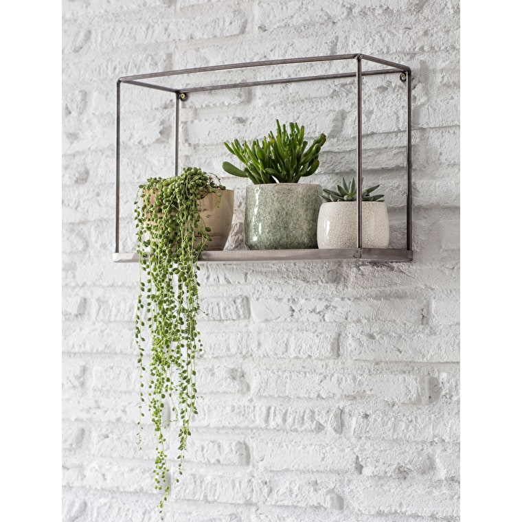 Metal Farringdon Box Shelf | Garden Trading