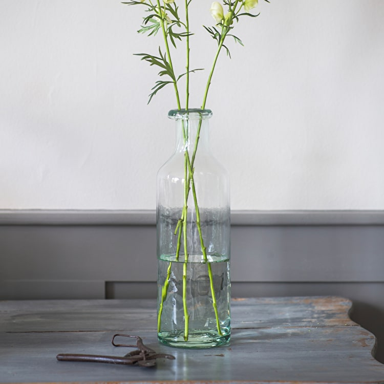 Recycled Glass Bottle Vase In Small Medium Or Large Garden Trading