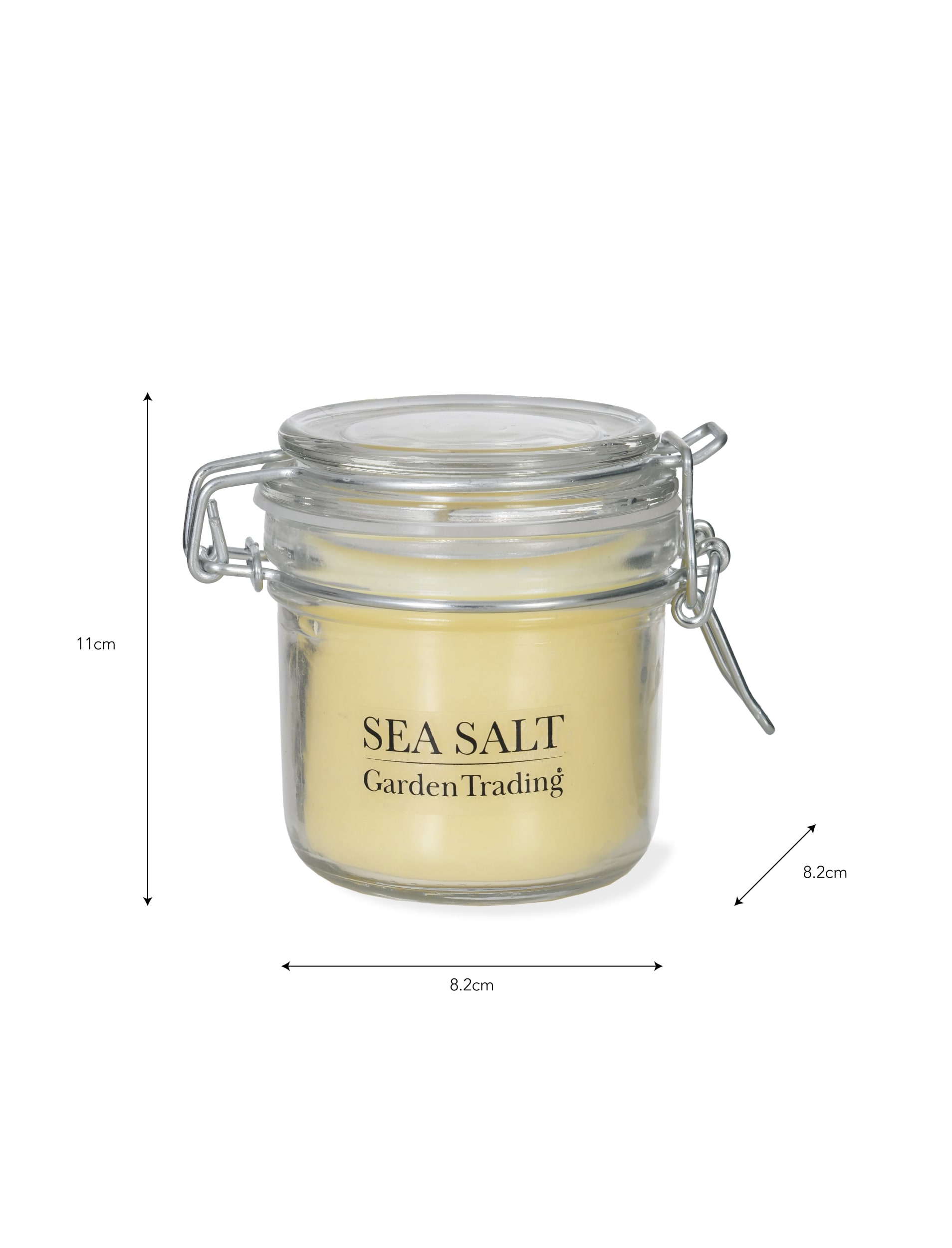 Glass House Candle in Sea Salt    Garden Trading