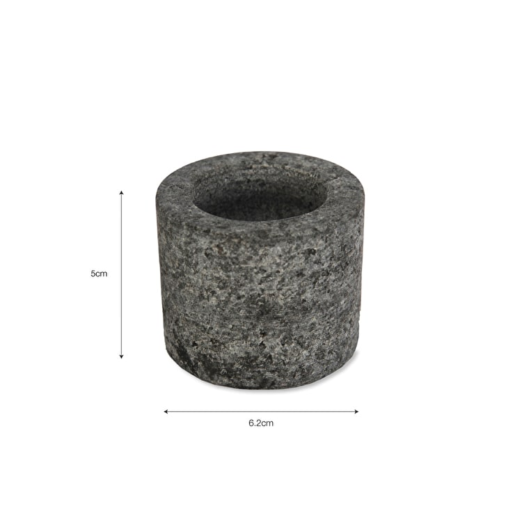 Granite Tealight Holder in Round, or Straight | Garden Trading
