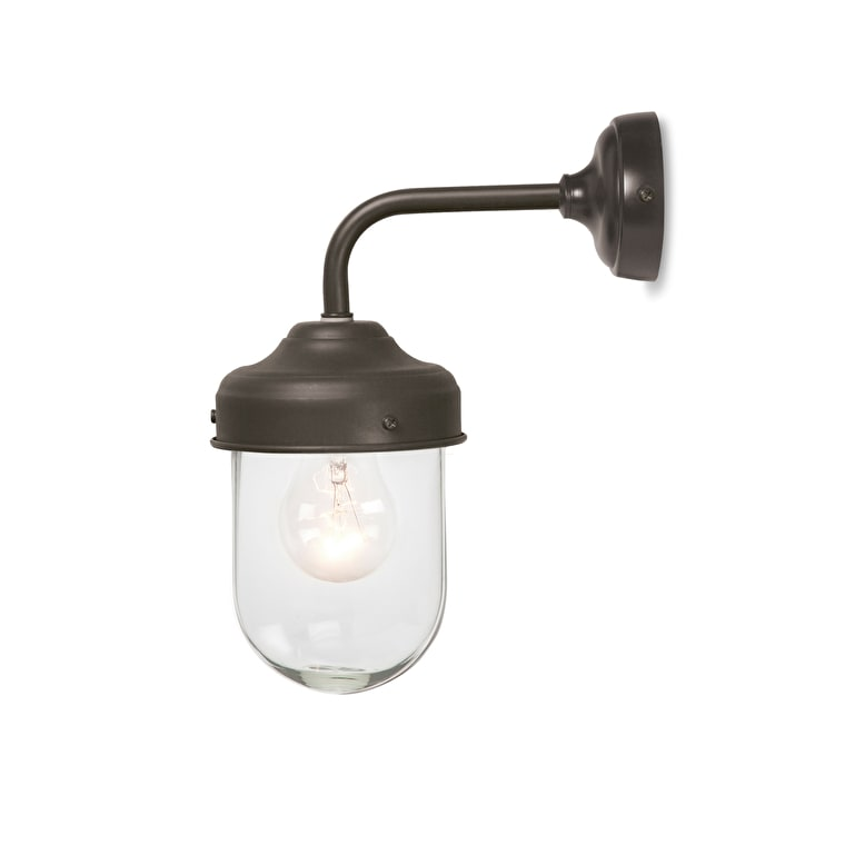 Barn Outdoor Wall Light in Grey, Brown or Cream | Garden Trading