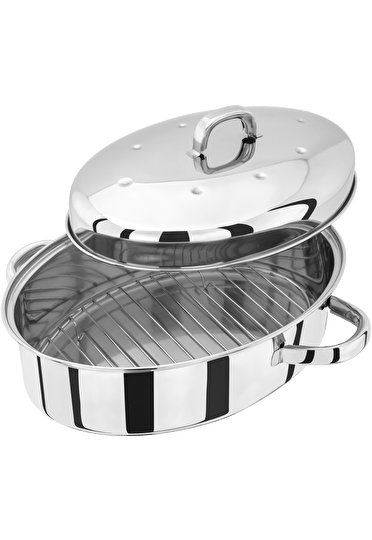 Judge Speciality Cookware  Oval Roaster with Rack
