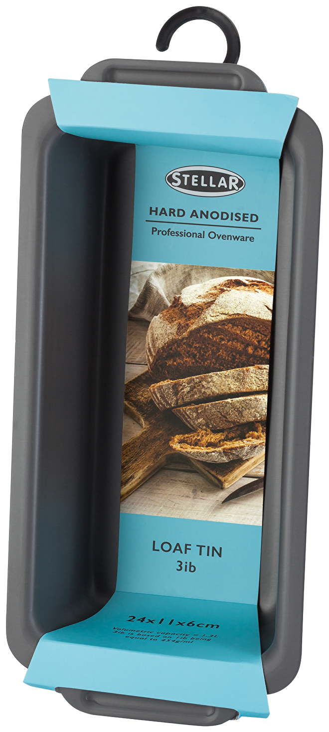 Stellar Hard Anodised  Loaf Tin,