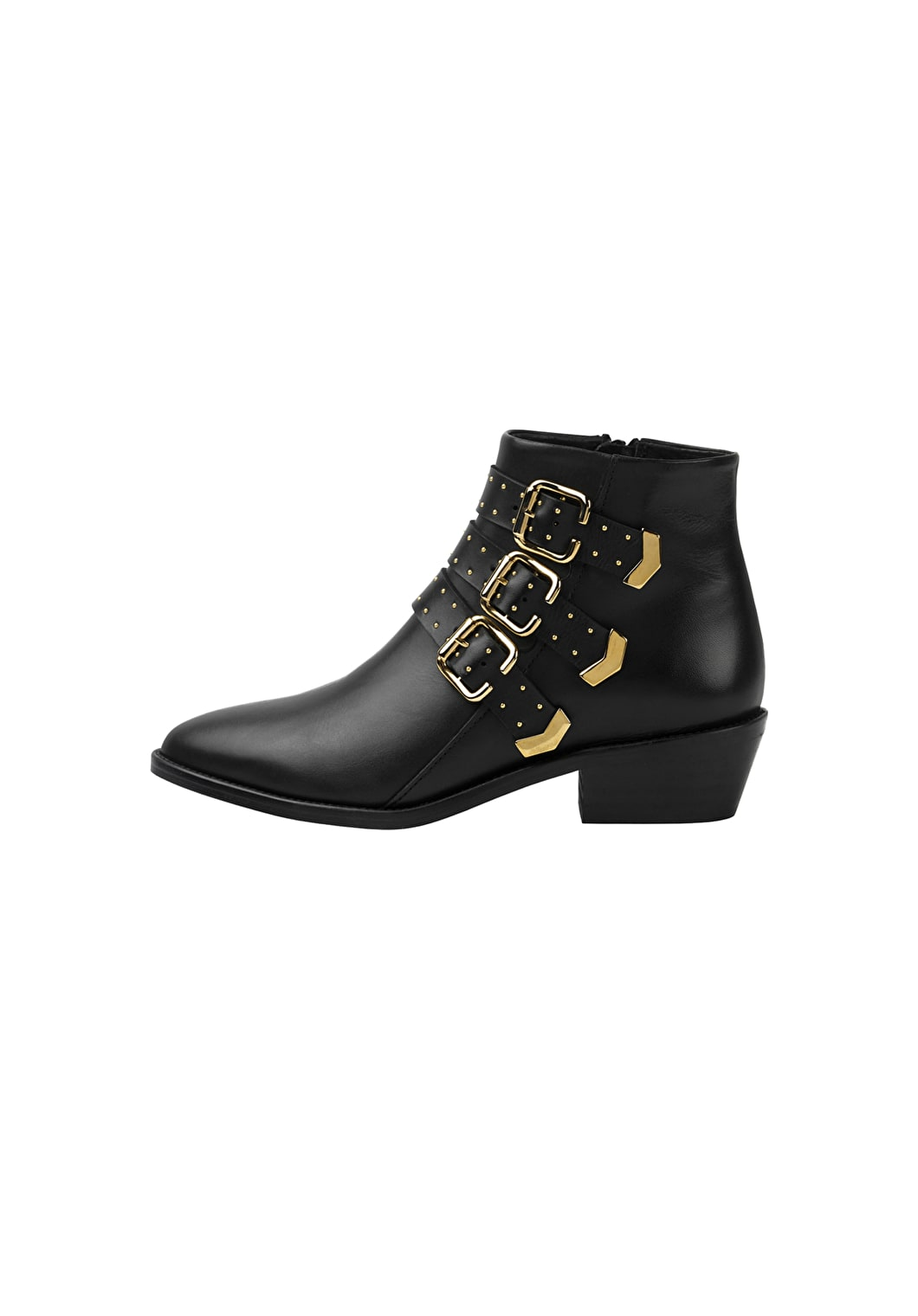 Derby Buckle Boots | hush