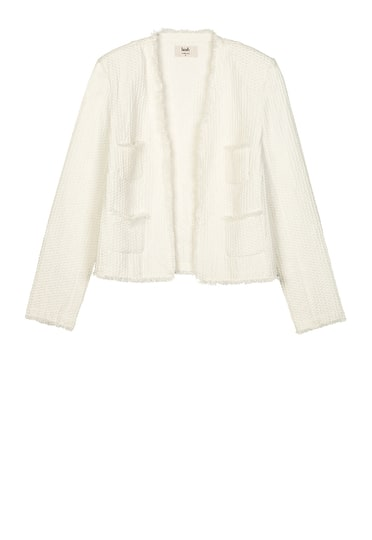 Frayed Crop Jacket
