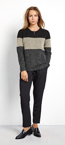 Metallic Colourblock Jumper