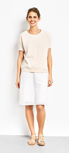 Berlin Perforated Skirt