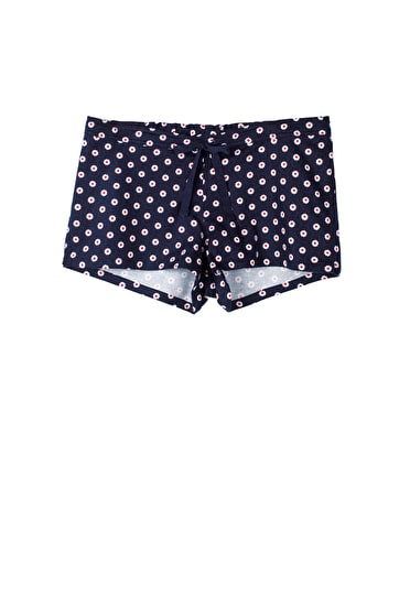 Daisy Bed Shorts