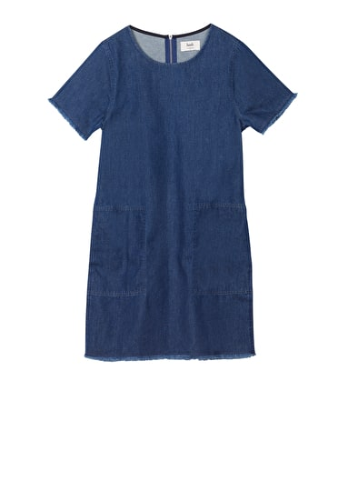 Denim Shift Dress