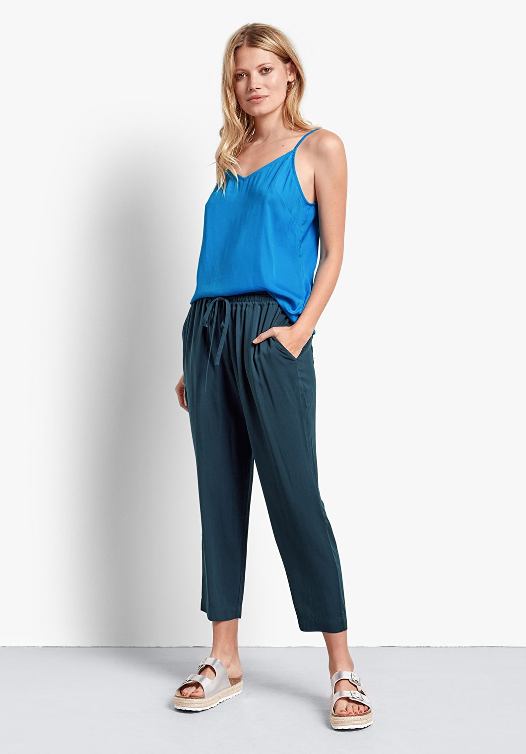 Cropped Easy Trousers | hush