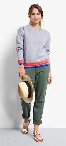 Multi Colour Sweat Top