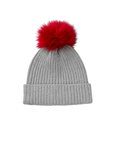 Detachable Pom Pom Hat